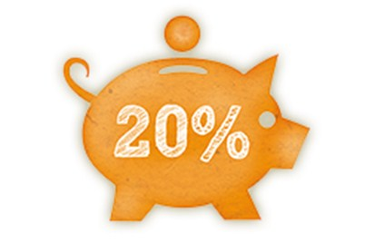 20% Multi Saver icon 1