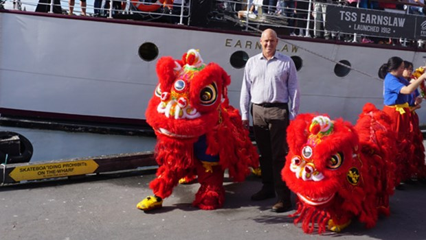 Lion Dance Queenstown Chinese New Year