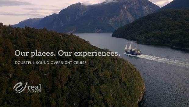 Video of Real Journeys Doubtful Sound Overnight Cruise