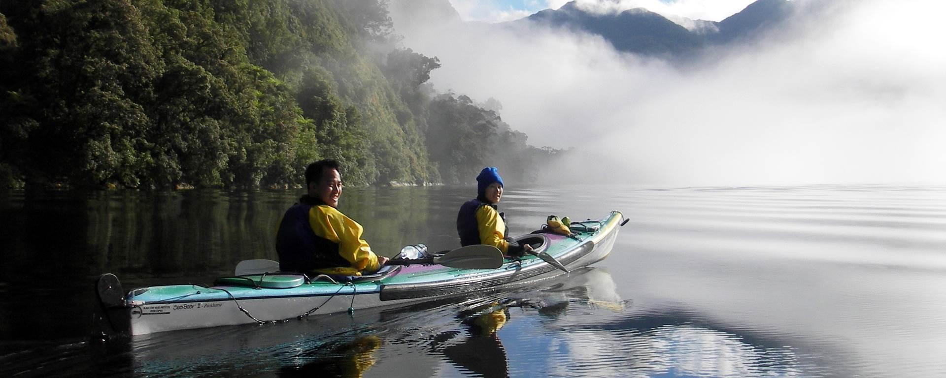 Real Journeys Nz Kayak Doubtful Sound Overnighter Multiday Lion Star Teko Thermo Water Jug 13 L K 1 Sea Kayaking