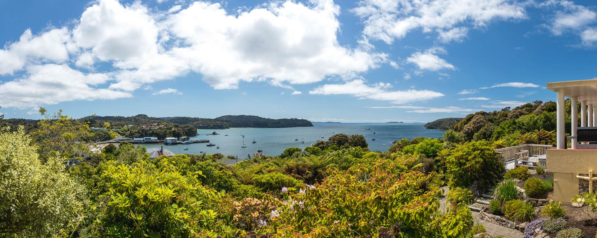 Stewart Island Lodge - view