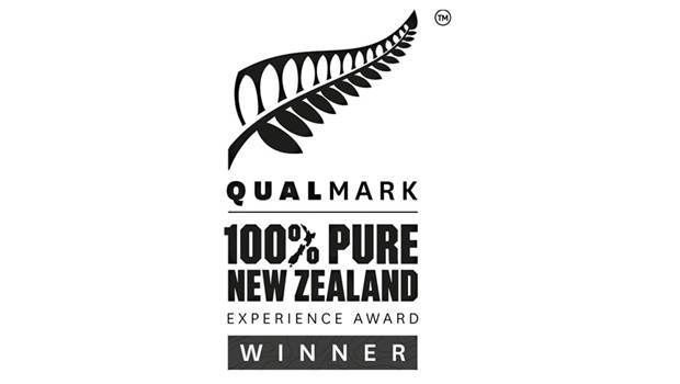 Qualmark Experience Award Winner
