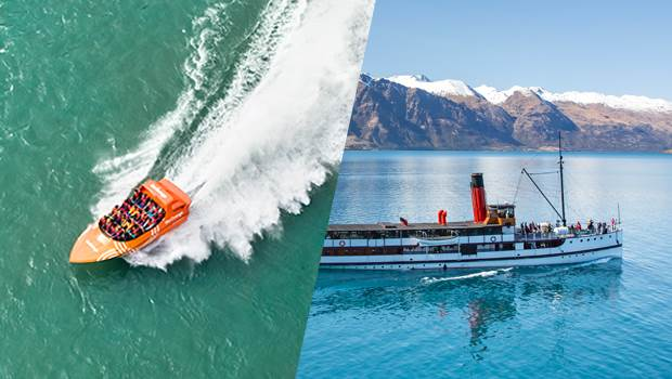 Queenstown Jet Boat and TSS Earnslaw Combo